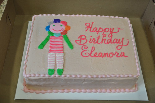 EBD 1st birthday cake