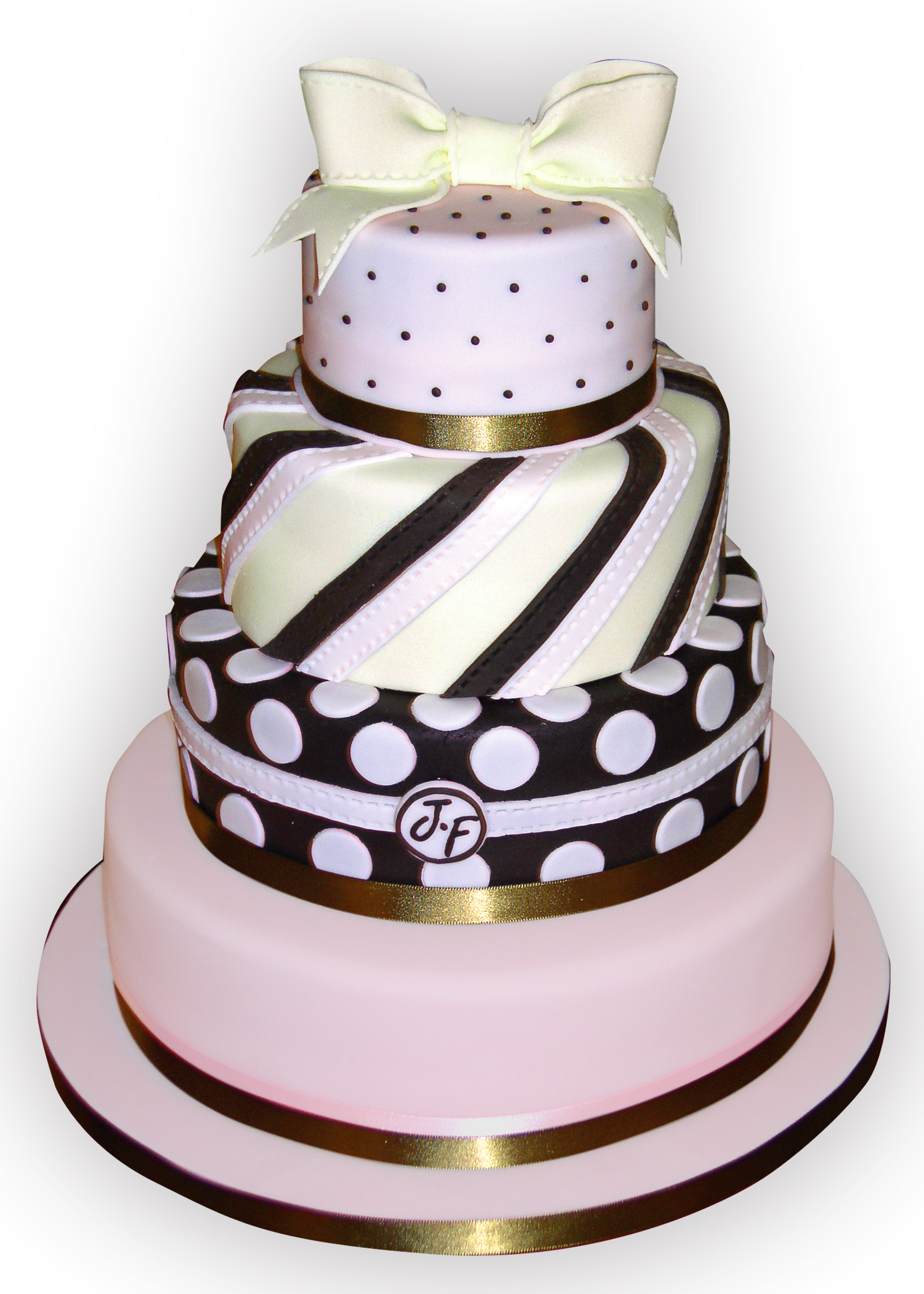 wedding cake with dots pink polka dot wedding cake flickr photo 26869