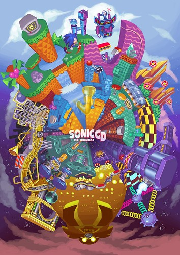 Mateus M - Sonic CD Fan Art Contest US Winner