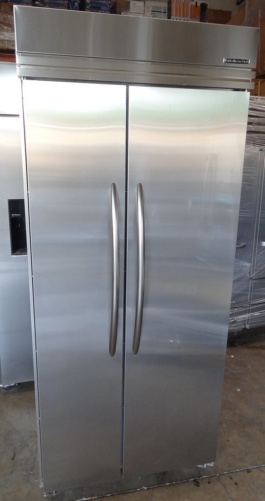 Kitchenaid Superba 36 Quot Side By Side Stainless Steel