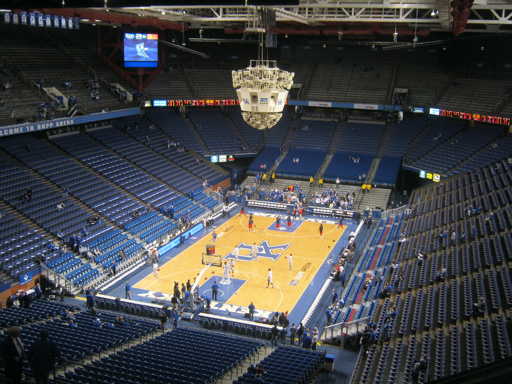 Rupp Arena The Cathedral Of Basketball Stadiafile