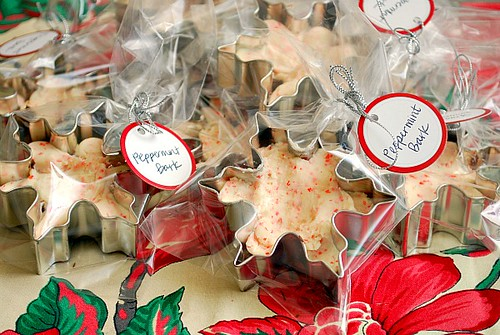Chocolate Peppermint Snowflakes