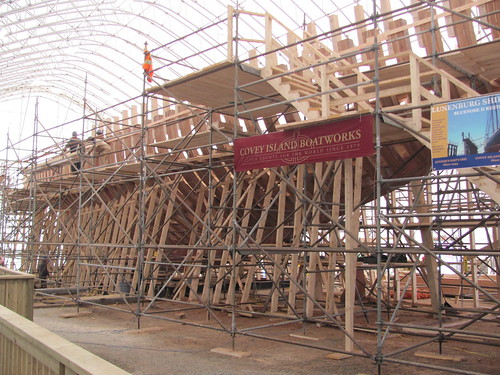 Bluenose Being Rebuilt