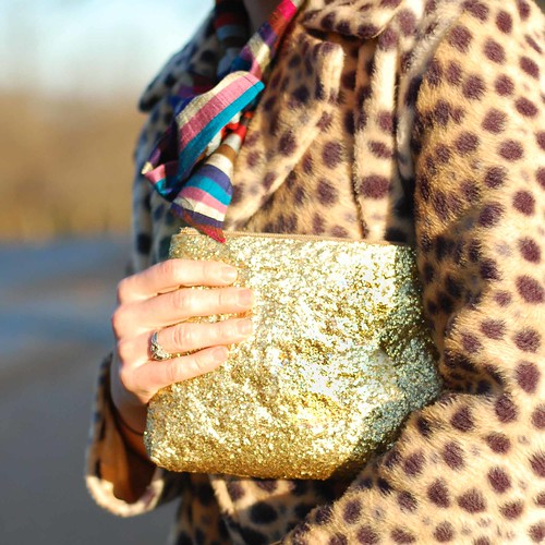 DIY Glitter Purse