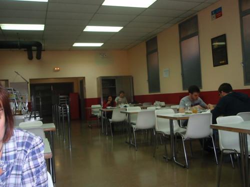 Zaragoza | Cafetería Facultad Económicas | Interior