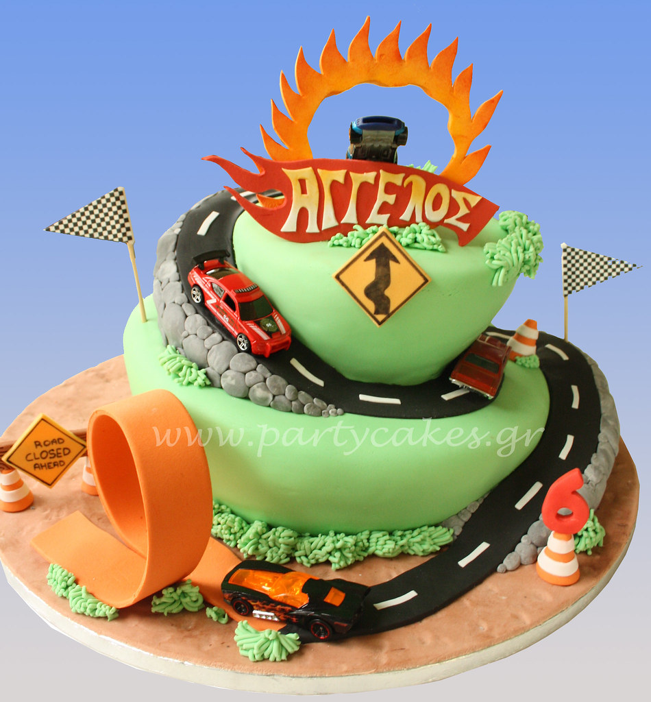 Images Of Hot Wheels Cake : Hot Wheels Cake - a photo on Flickriver
