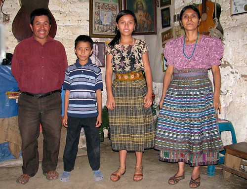 Rosalinda Magdalena and family