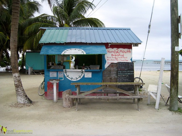 local restaurant dive caye caulker belize