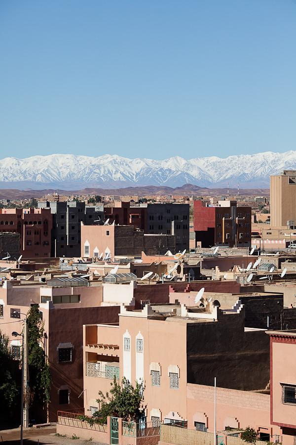 Maroc 2011 - Massif de l'Atlas - Ouarzazate