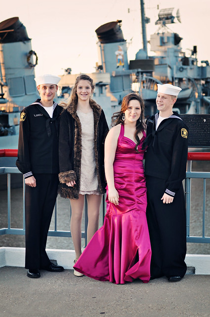 Military Ball 2011 bryce mattie dylan musette