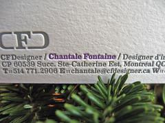 CFDesigner Letterpress Cards