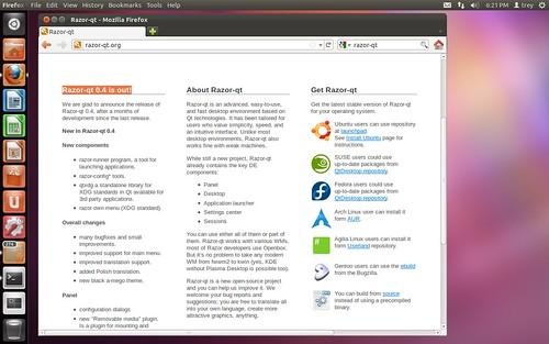Razor-qt telepítése Ubuntu 11.10-re #1