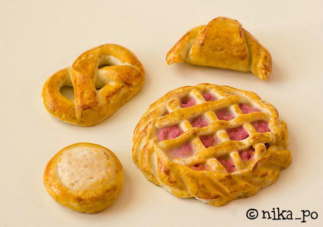 Поделки из соленого теста: хлеб и выпечка - каталог статей на 54