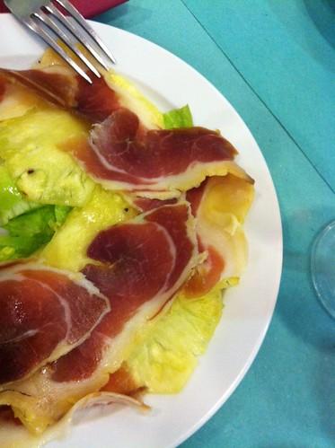 Barcelona | Foment Hortenc | Ensalada de piña y jamón
