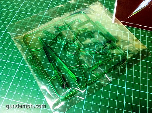 6544022661 aa4edf2dcb MG Quan[T] GN Sword IV Full Saber | BTF Colored Resin Kit | Unboxing