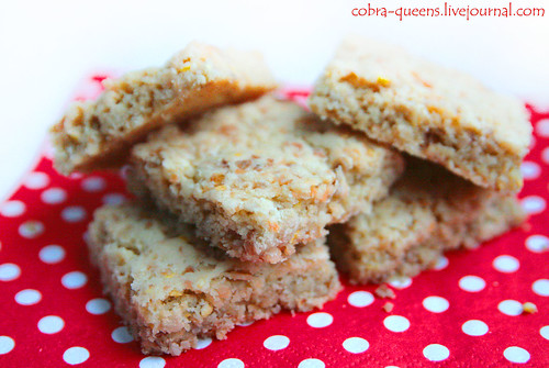 Oatmeal cookies with coconut