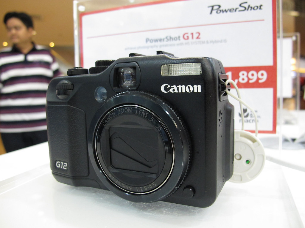 Canon G12 Now at MYR $1699 after discount ...