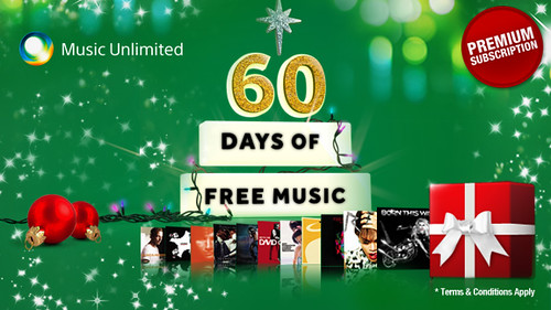 Try The Music Unlimited Premium Package Free For 60 Days