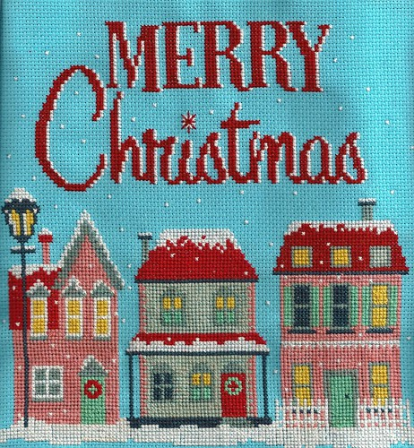 Merry Christmas cross stitch