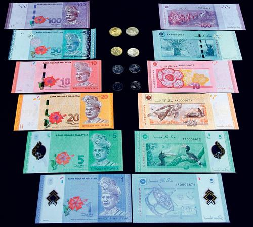 Wang Kertas dan Duit Syiling Malaysia Terbaru 2012