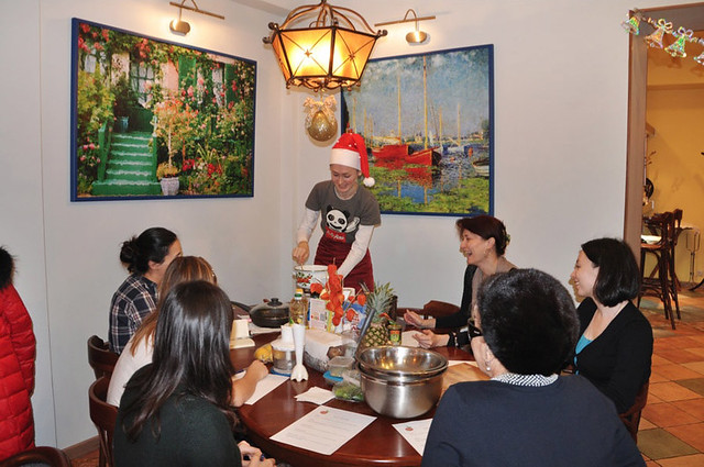 cafe COK master class 17/12