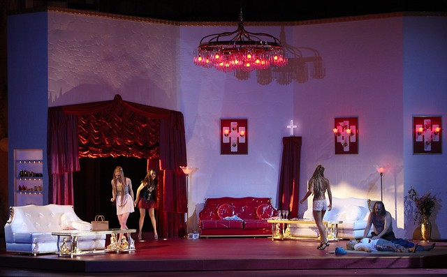 Camilla Nylund, Alan Held and cast members in Rusalka © A.T. Schaefer/ROH 2011