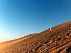 ... such as sandboarding