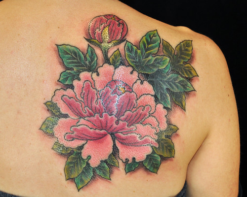 flower cover-up by Matt Lentz  by UndertheNeedle