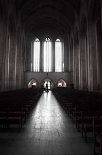 Inside Guildford Cathedral