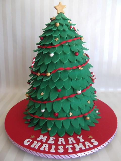 christmas tree cake - photo #28