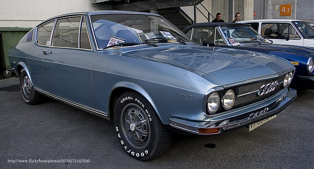 1973 Audi 100 Coupé S automatic