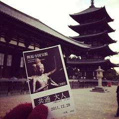 興福寺東金堂に四天王確認!いってきます!