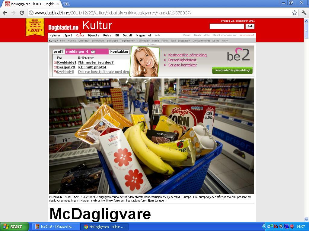 norske matkjeder