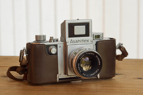 Asahiflex IIa with Takumar 2.4/58
