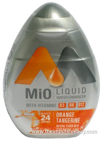 REVIEW Orange Tangerine MiO Liquid Water Enhancer with Vitamins The Impulsive Buy