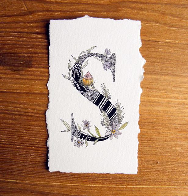 """Art Initial """"S"""""""