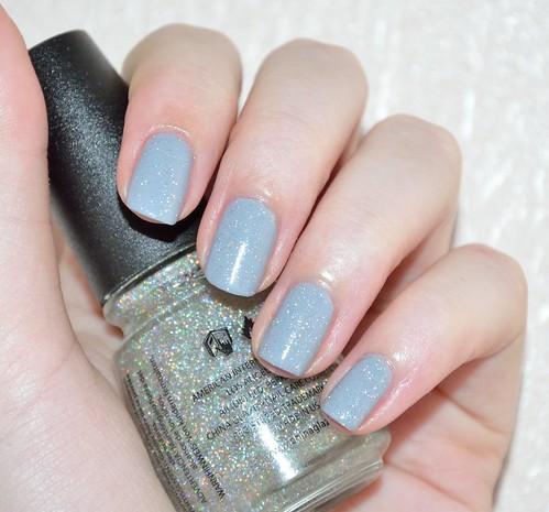 Zoya Carey + China Glaze Fairy Dust