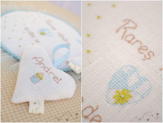 inimioara personalizata ( umpluta cu flori de lavanda )