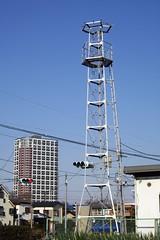 上保谷又六の火の見櫓(西東京市)
