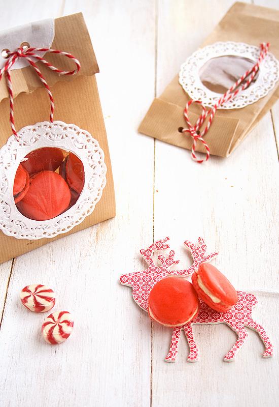 Regalos navideños VI: Macarons de Navidad