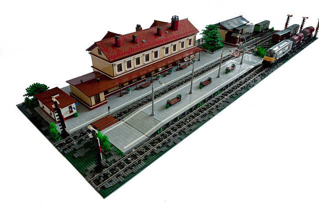 Train station overview
