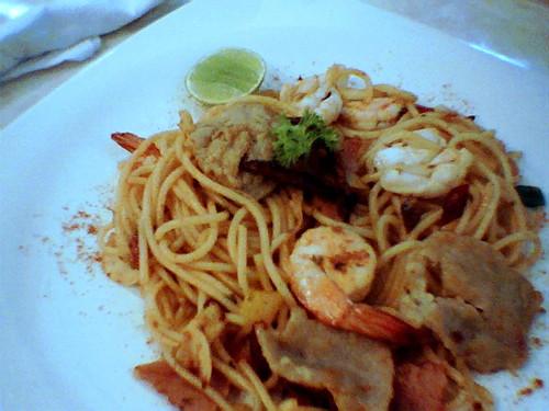 Mix Spicy Spaghetti