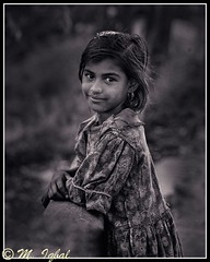 an orphan, but still smiling; Bangladesh: 1990