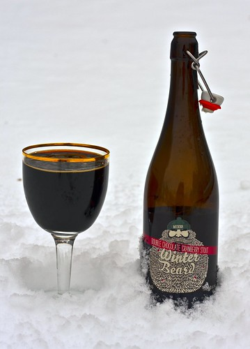 Review: Muskoka Winter Beard 2011 - Double Chocolate Cranberry Stout by Cody La Bière
