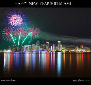 Happy New Year 2012 Miami