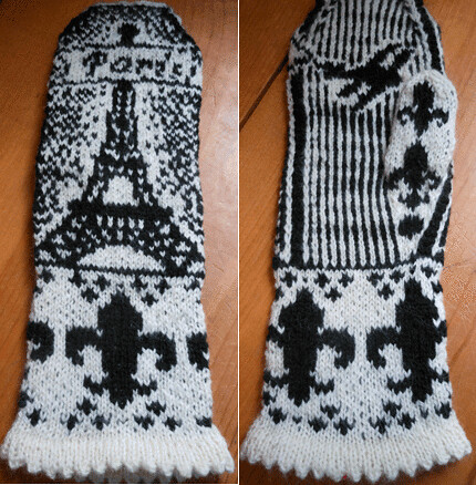 parisright by Paula knits