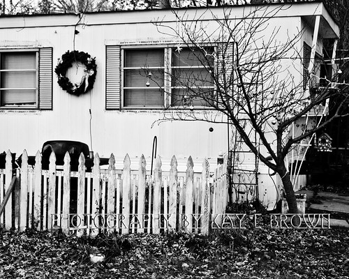 Mobile home park christmas