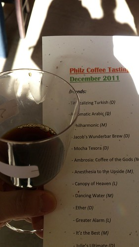 Philz Coffee Tasting Event
