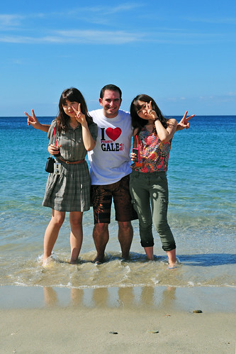 Korean friends in Puerto Galera
