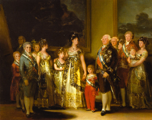 Francisco de Goya - Charles IV of Spain and His Family, 1800 at Museo Nacional del Prado Madrid Spain